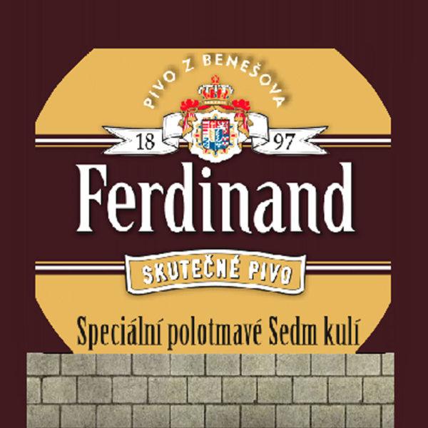 ferdinand_sedm_kuli_keg - Компания НАЙС
